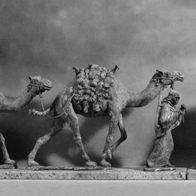 PRIVATE COMMISSION - THE CAMEL TRAIN<br />click to enlarge